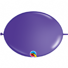 Qualatex Quick Link Balloons - 6 Inch Purple Violet Quick Link Balloons (50pcs)